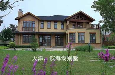 天津滨海湖别墅电梯