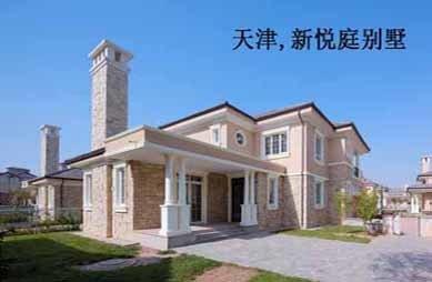 天津新悦庭别墅电梯